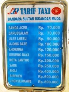 tarif-taksi-bandara-sultan-iskandar-muda-aceh