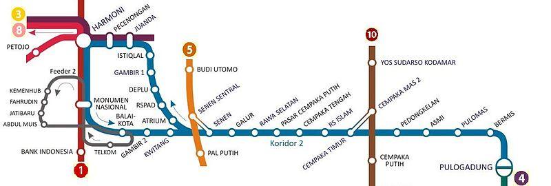 jalur-trans-jakarta-koridor-dua