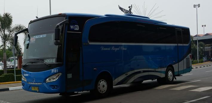 Jadwal DAMRI Bandara Rute Bekasi